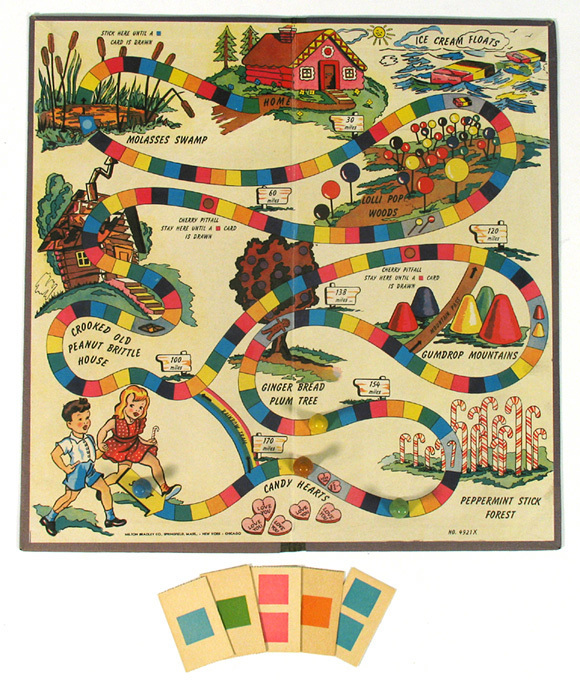Candyland Game Board Path – Home Ideas on