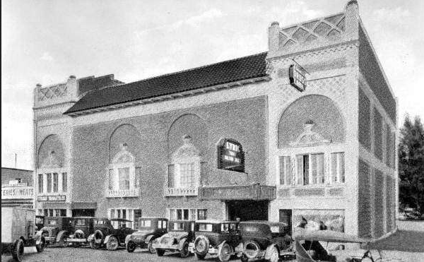 A picture of the historic theater where I worked, during its original heyday in the 1920s.