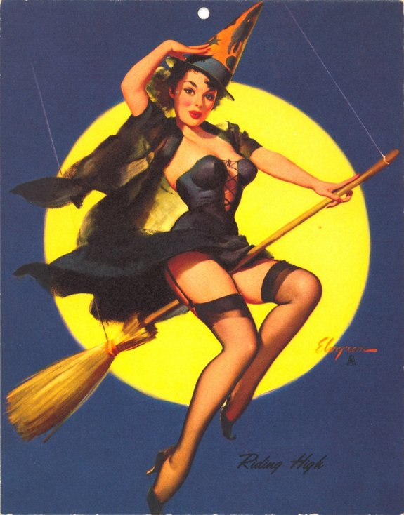 Art by Gil Elvgren.