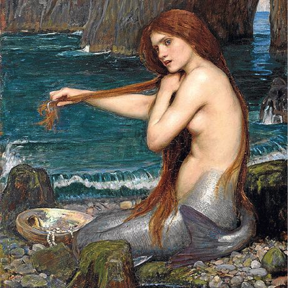 The Mermaid by J.W. Waterhouse