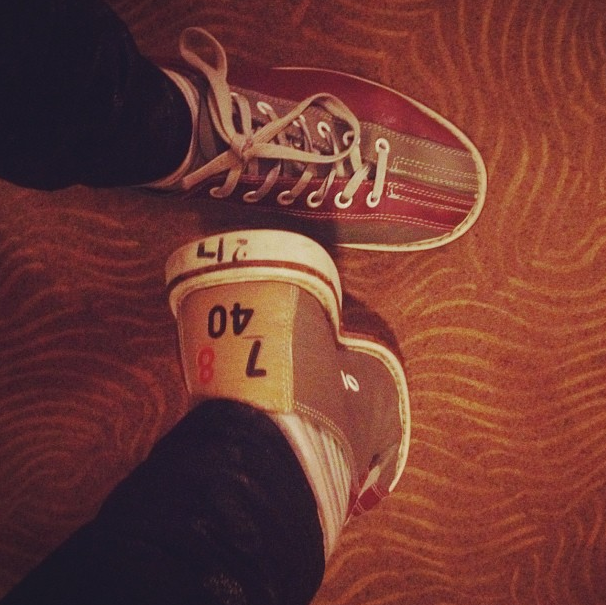 My badass bowling shoes
