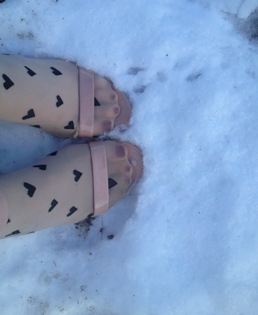 My Snow Shoes.