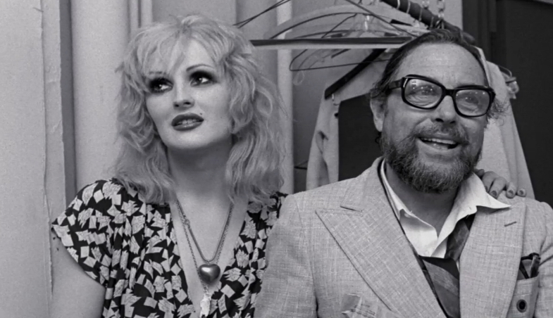 Two heroes of mine together - Candy Darling and Tennessee Williams