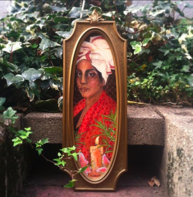 Artist Katelan Foisy's rendering of Marie Laveau.