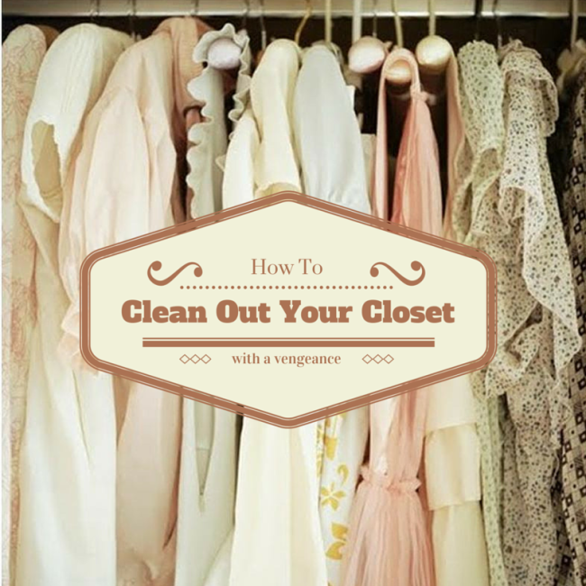 Adventures In Spring Cleaning How To Clean Out Your